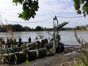 výlovy rybníků na Třeboňsku v Jižních Čechách